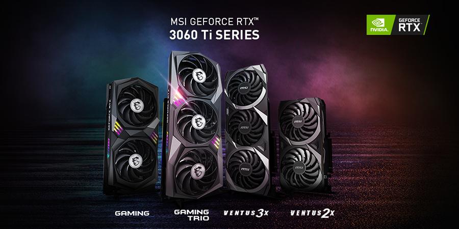 MSI NVIDIA GeForce 3060 Ti