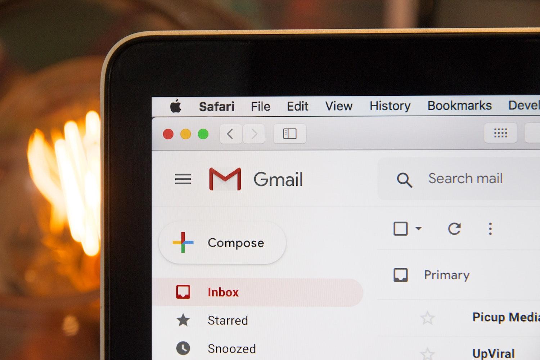 komputer poczta gmail