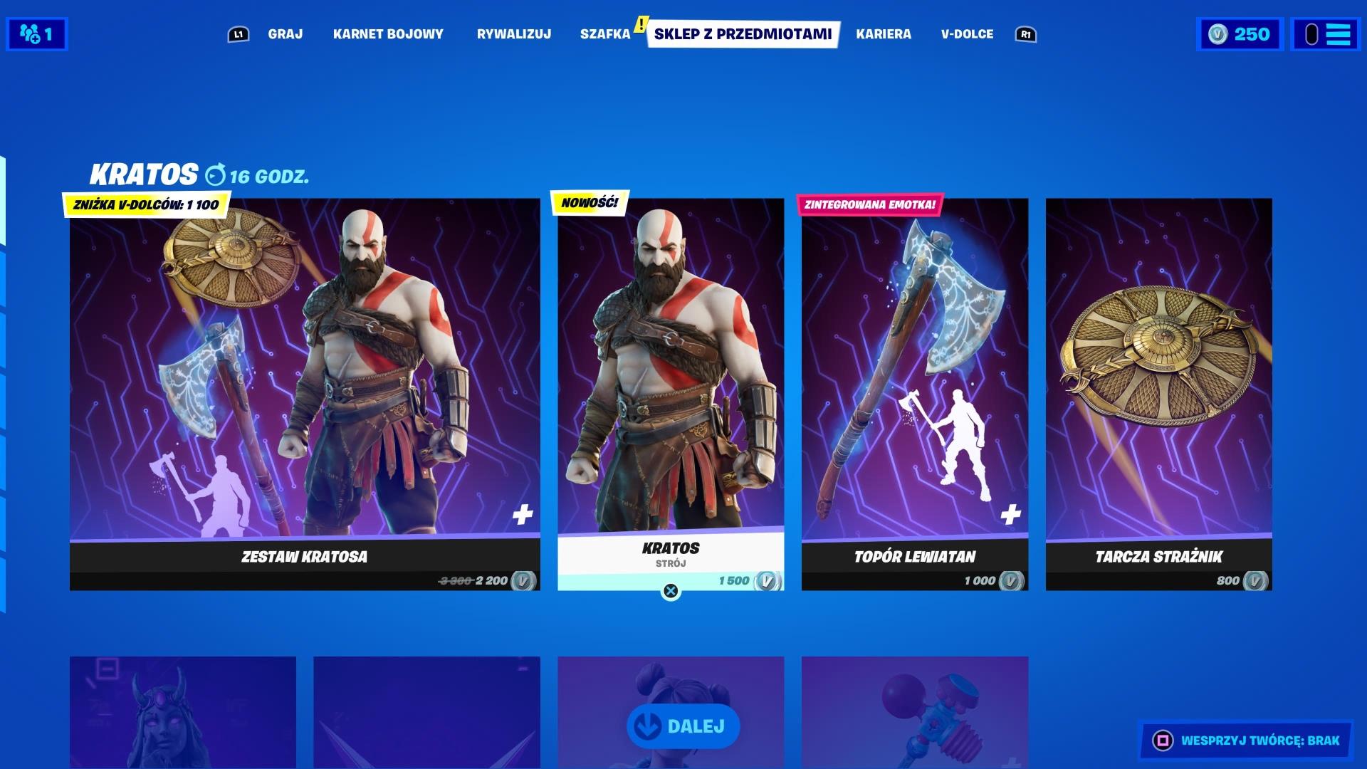 Fortnite Kratos God of War