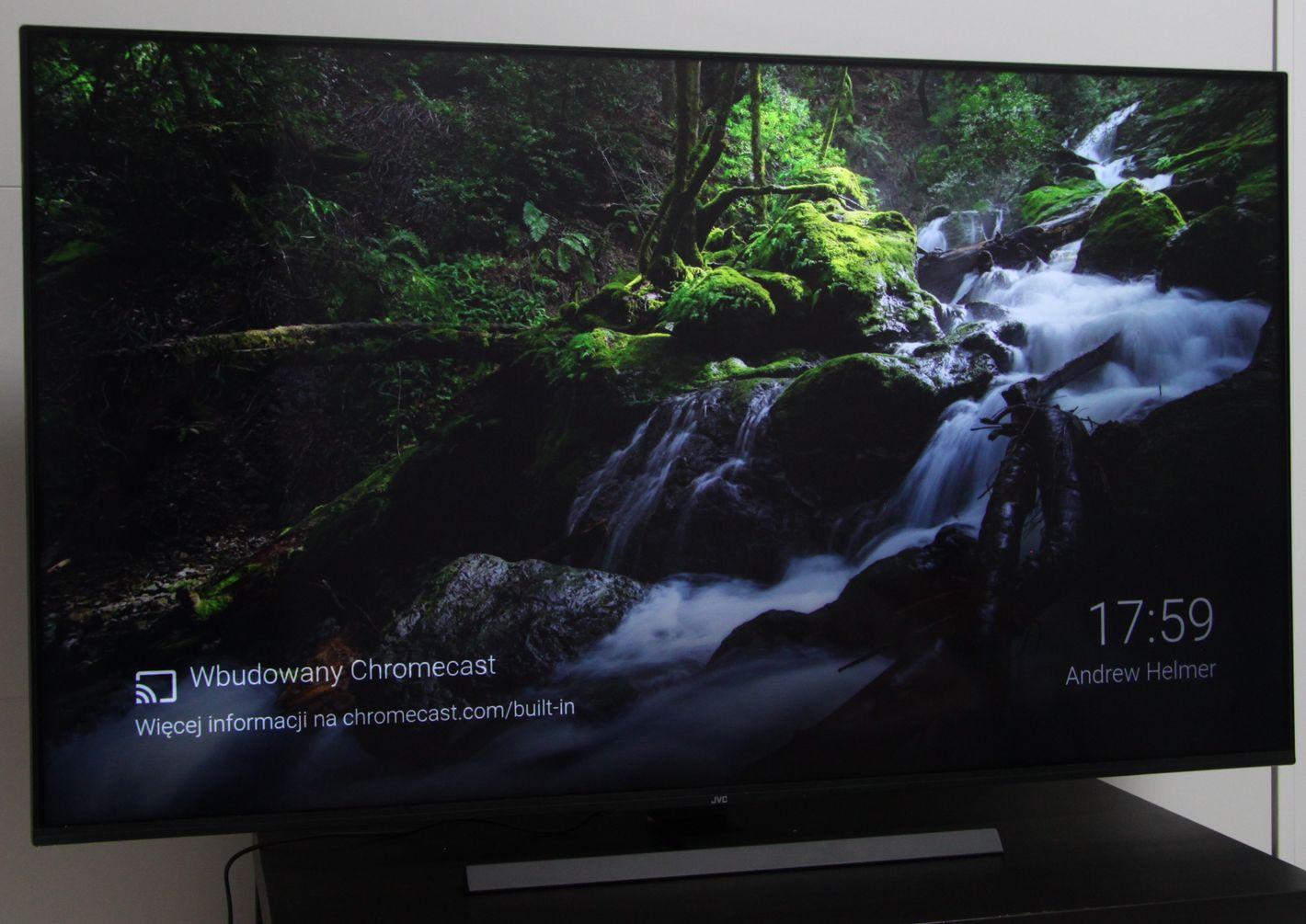 JVC 55VA8000 Chromecast