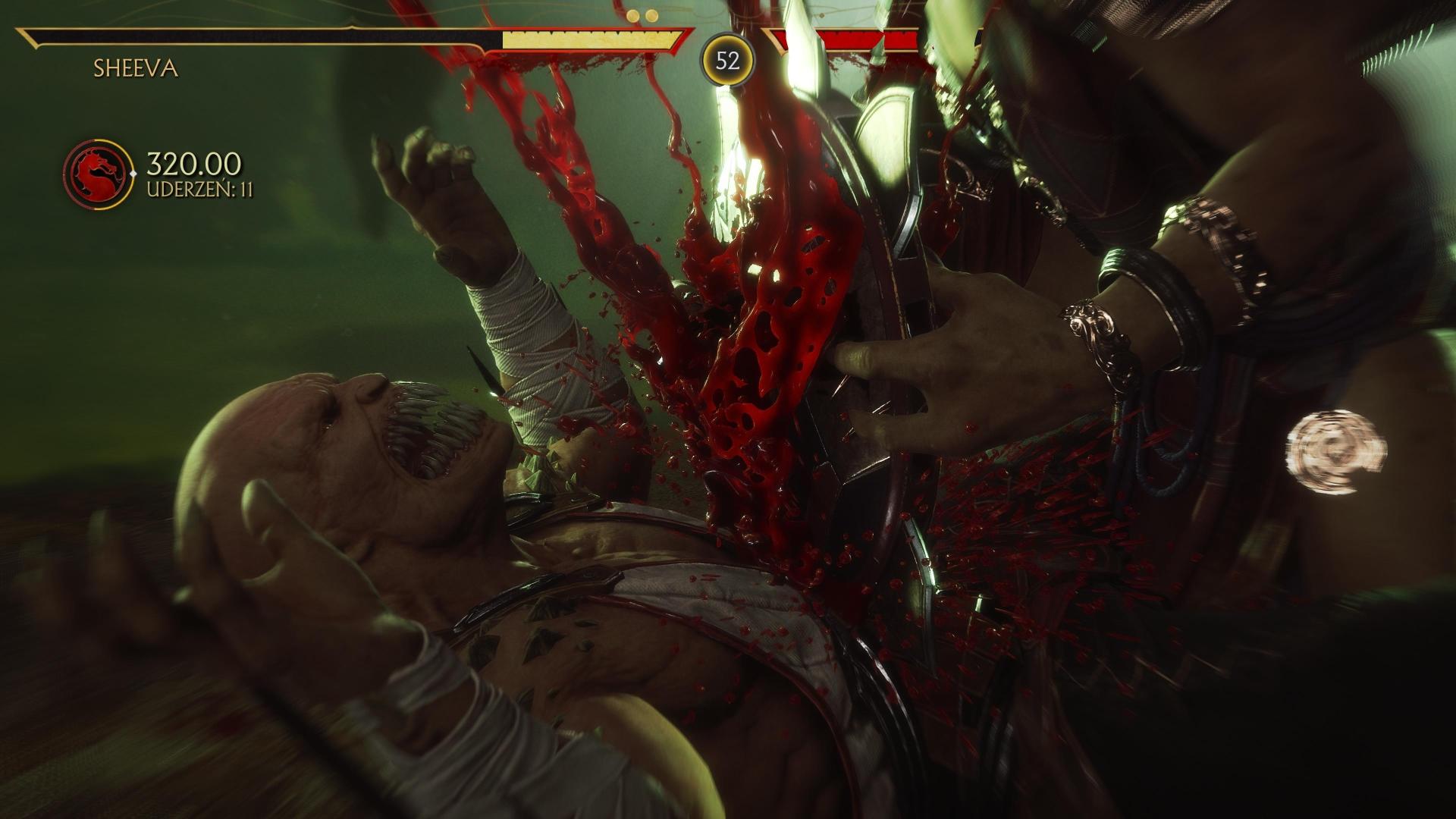 Krwawa scena Mortal Kombat 11