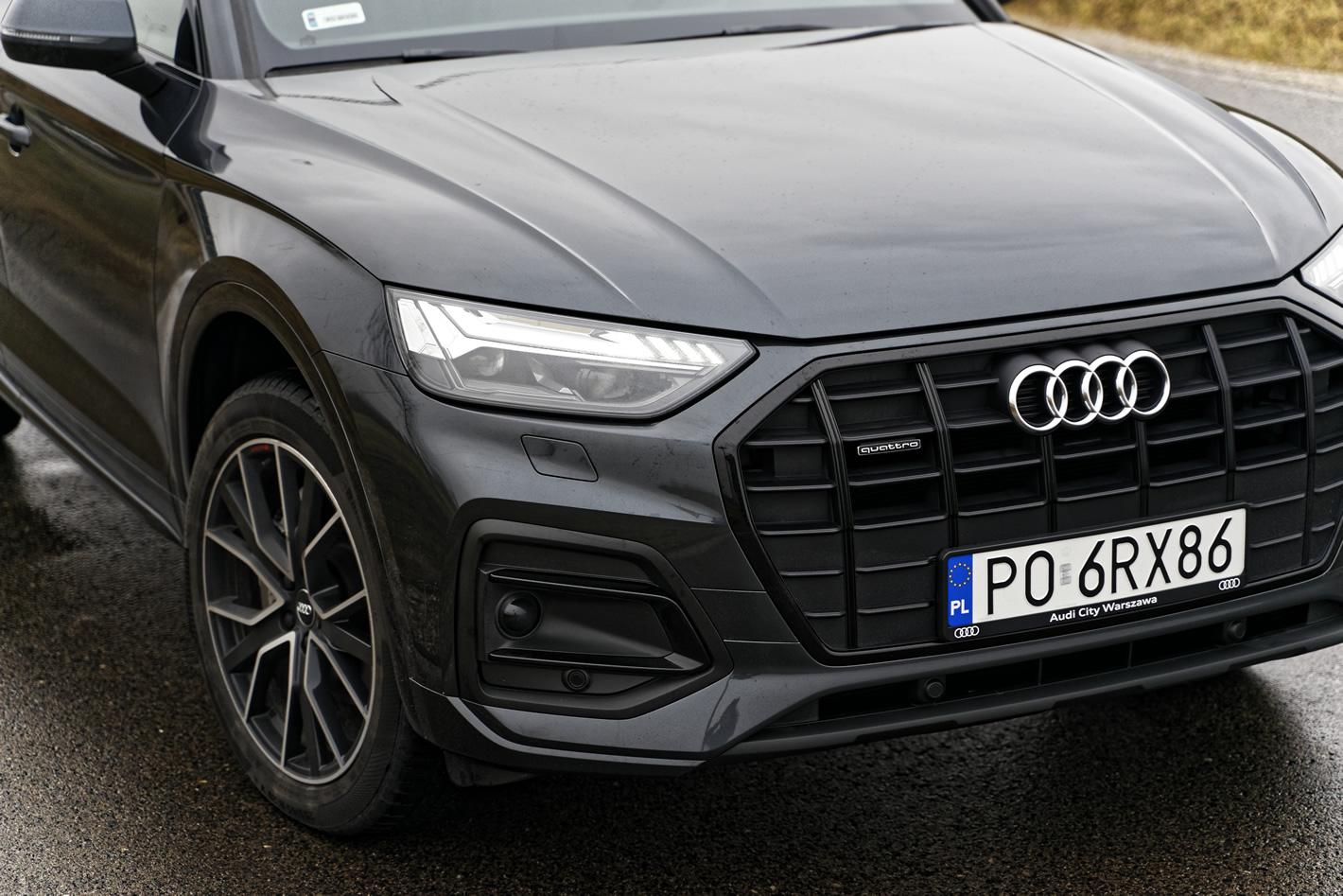 Nowe Audi Q5 40 TDI quattro S tronic Matrix LED