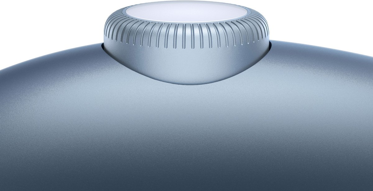 sterowanie digital crown w airpods max