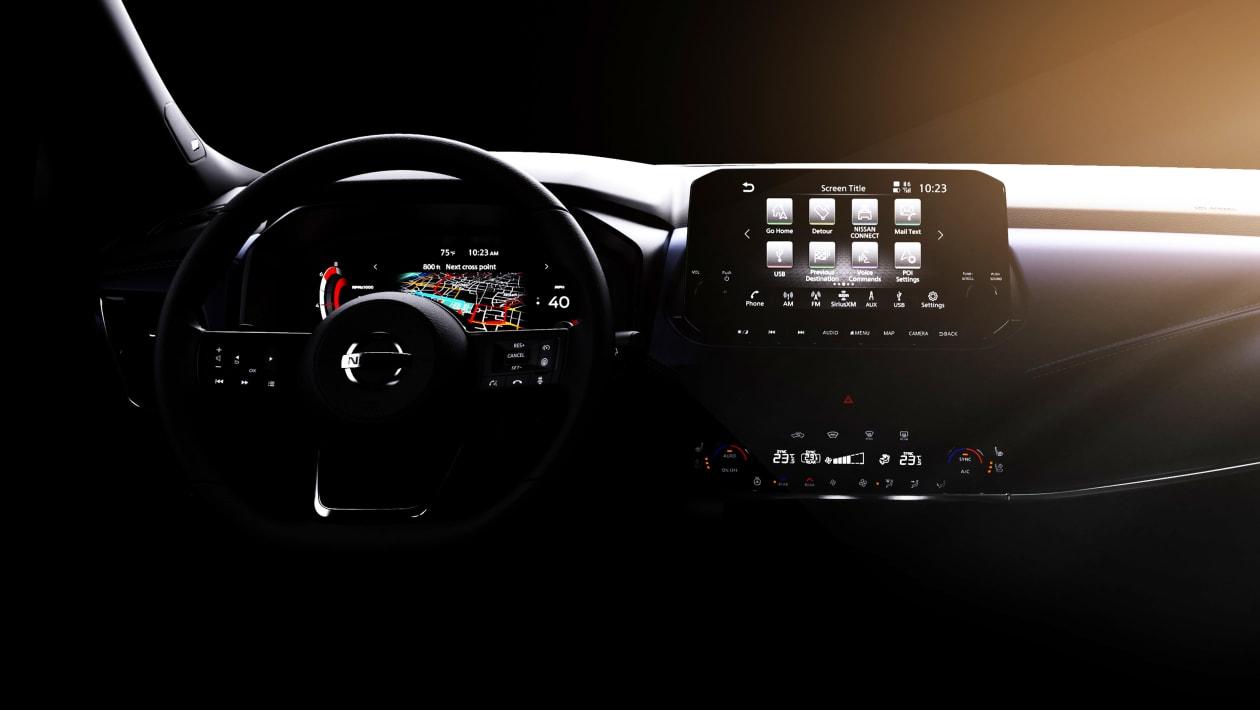 Nissan Qashqai 2021 deska rozdzielcza