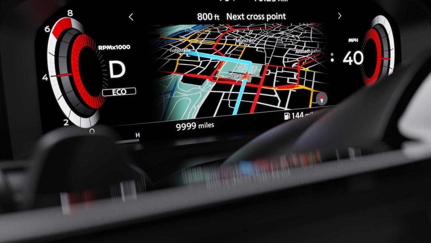 Nissan Qashqai 2021 wirtualny kokpit