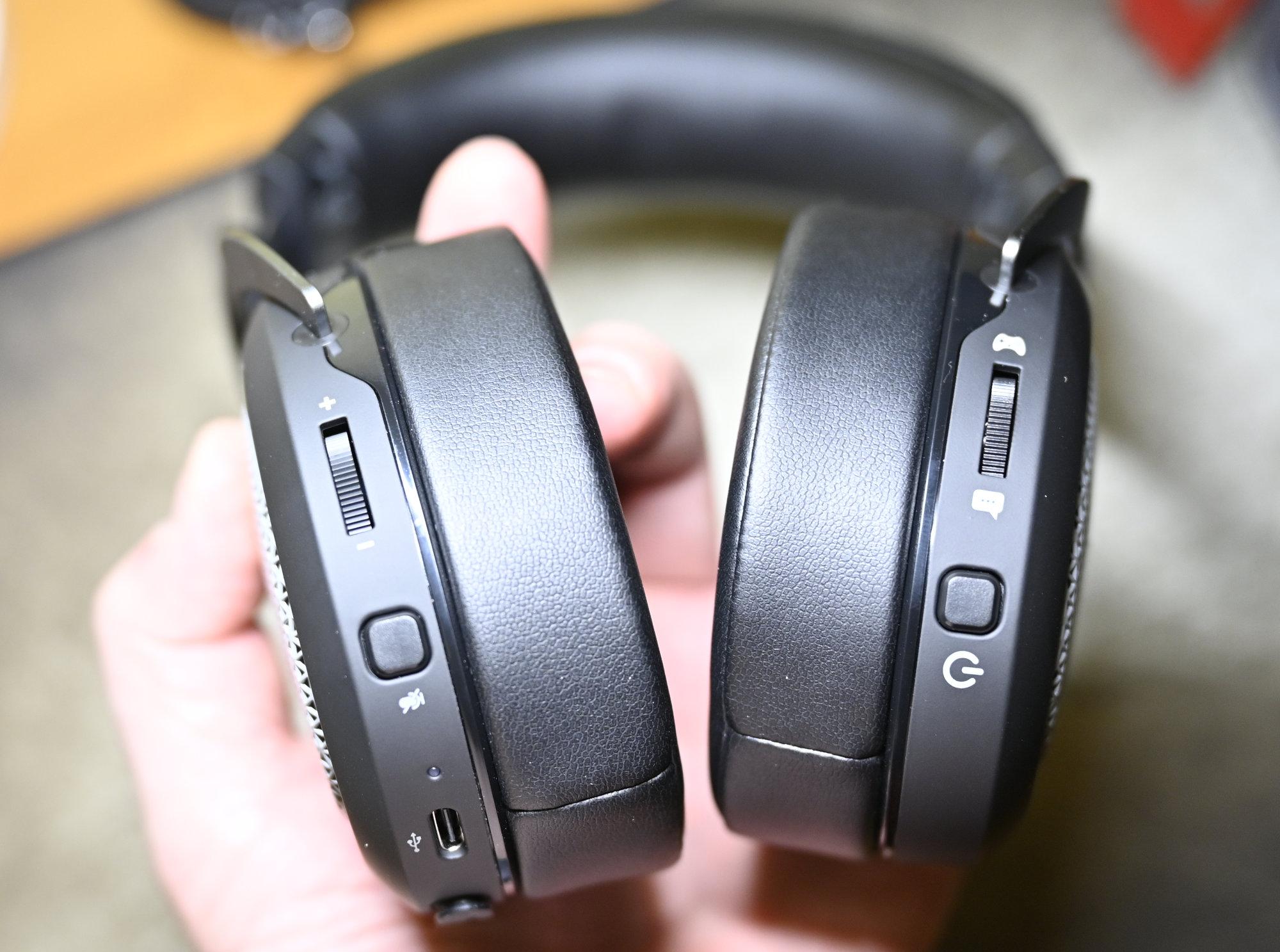 Corsair HS75 XB WIRELESS słuchawki xbox przyciski