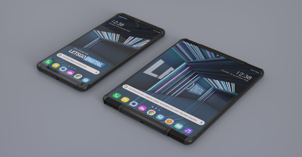 lg rollable rendery