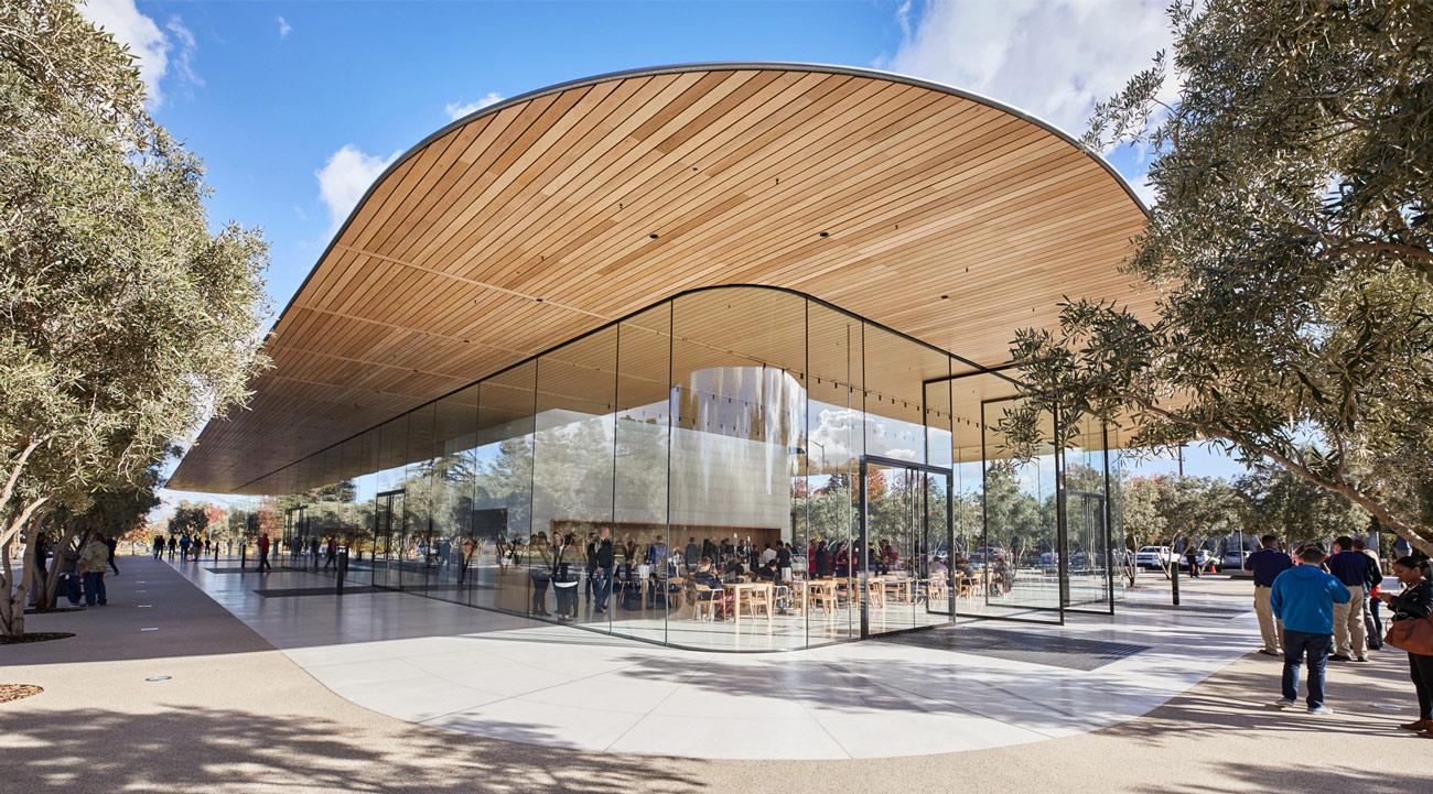 budynek Apple Park Visitor Center