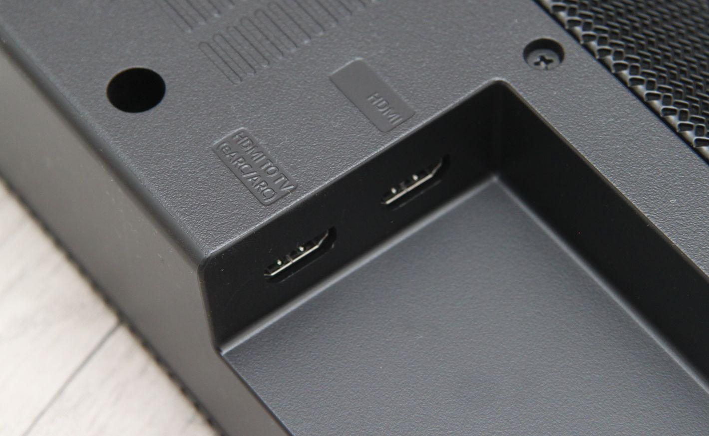 Samsung HW-Q70T porty HDMI