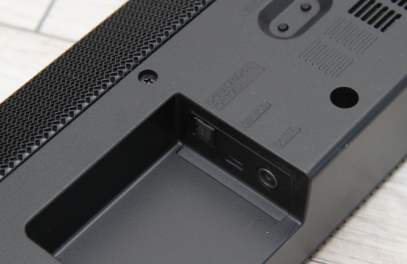 Samsung HW-Q70T zasilanie i optyk
