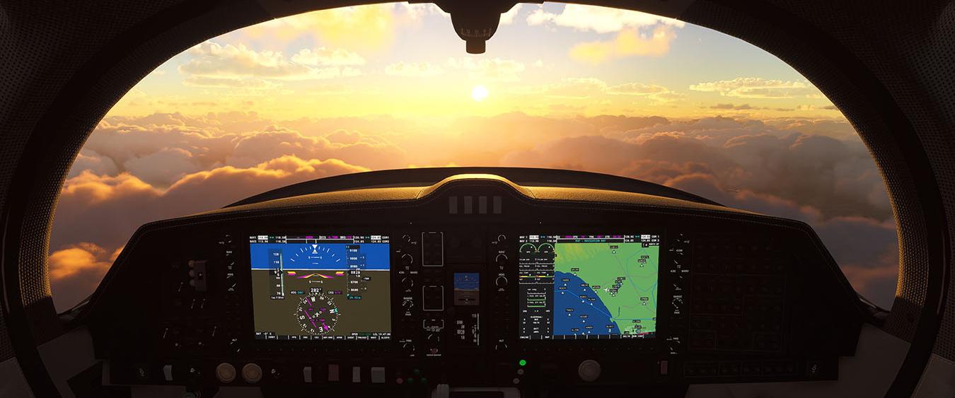 zrzut ekranu z gry microsoft flight simulator