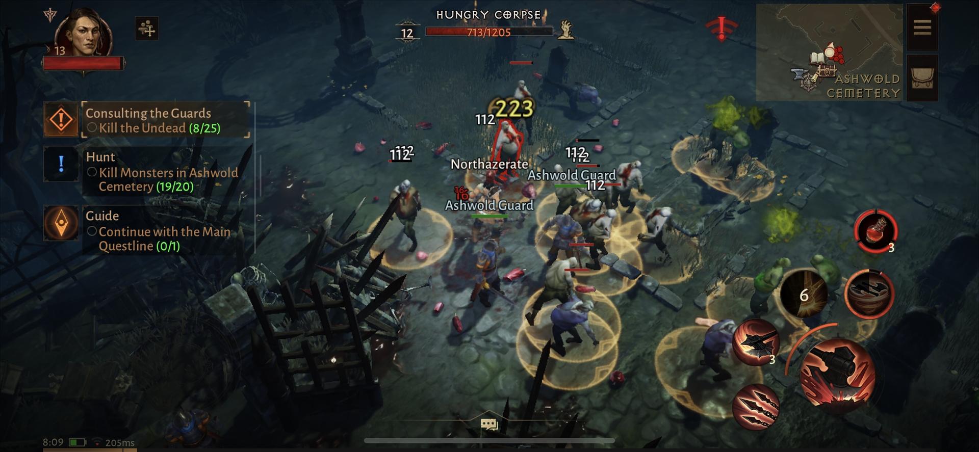 Walka w Diablo Immortal