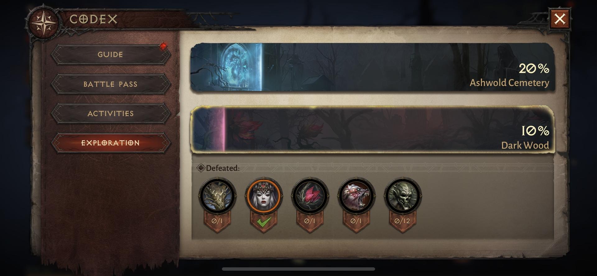 CODEX Diablo Immortal