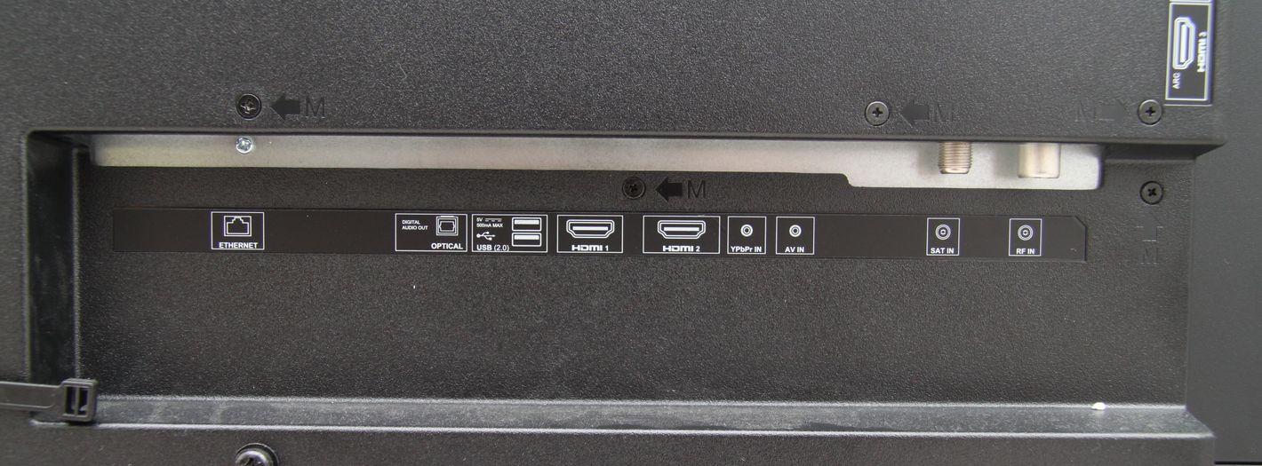 Sharp 65BL5EA porty