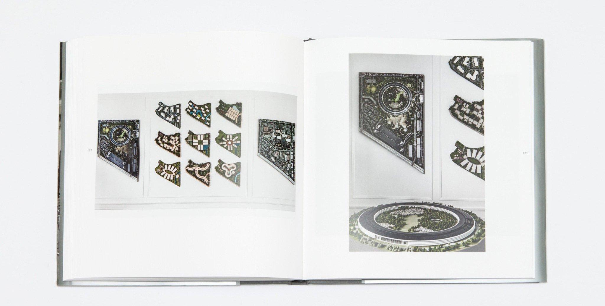 szkice apple park z książki Spaces