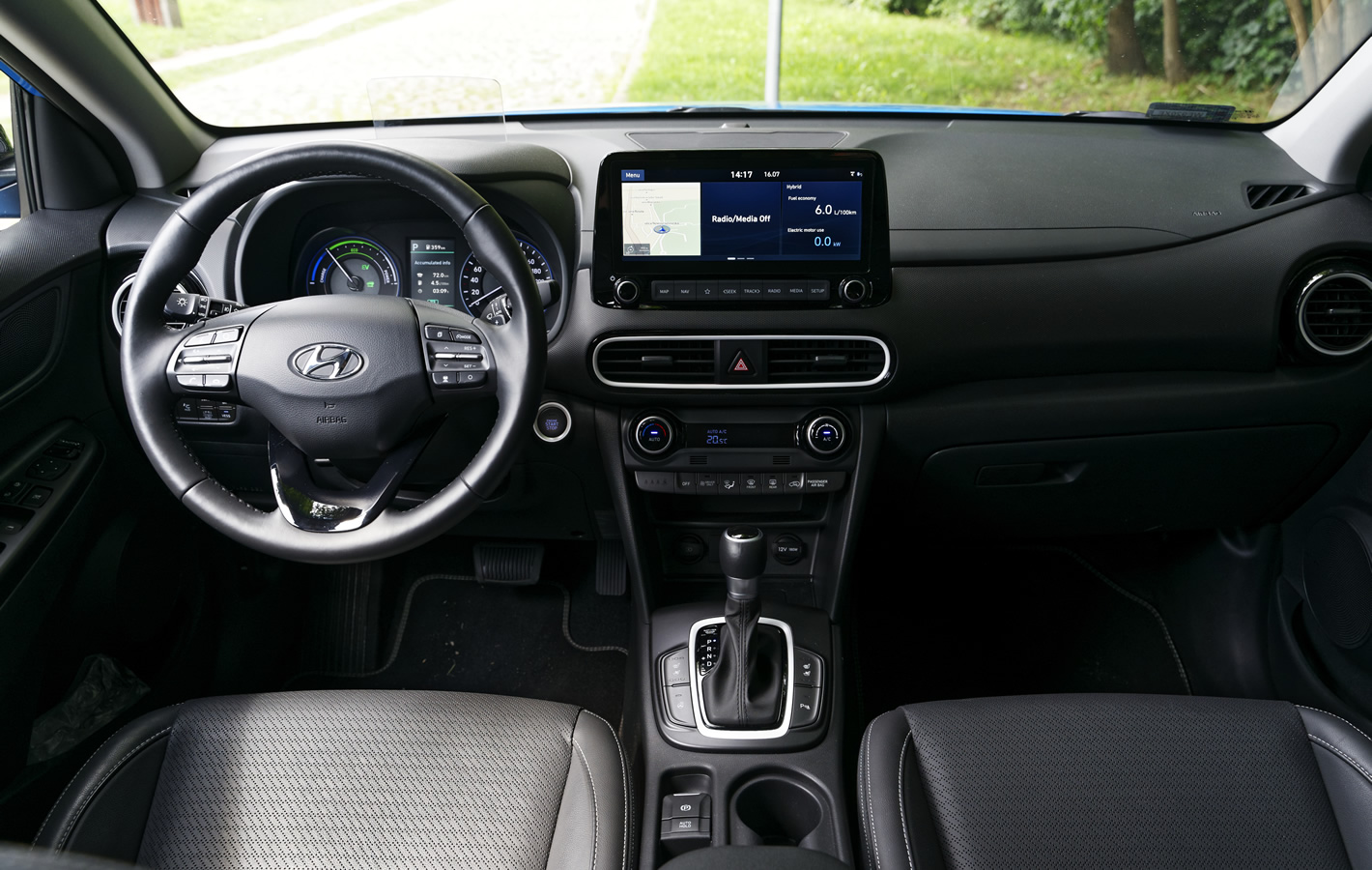 Hyundai Kona Hybrid 2020