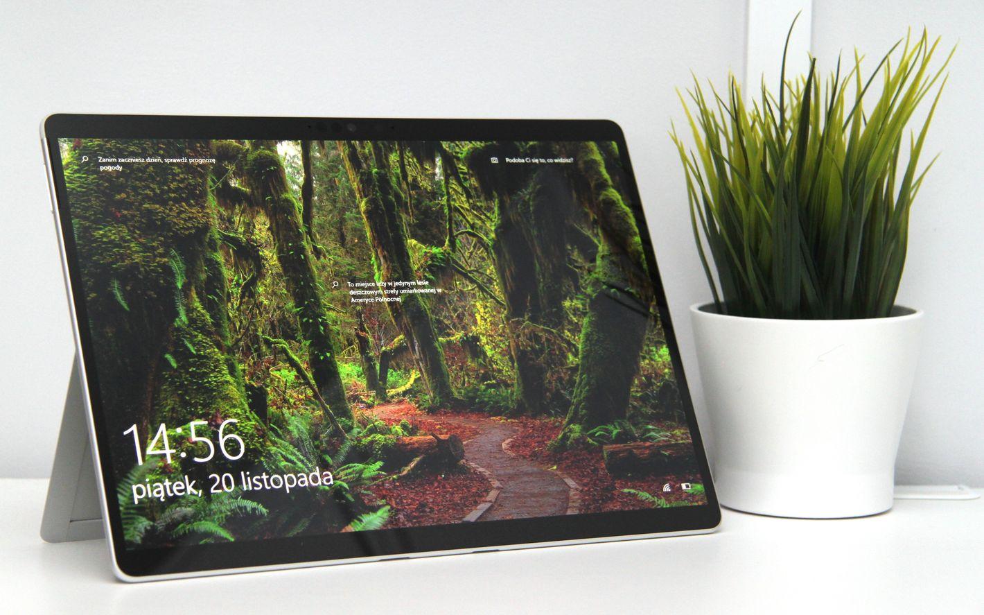 Microsoft Surface Pro X ekran