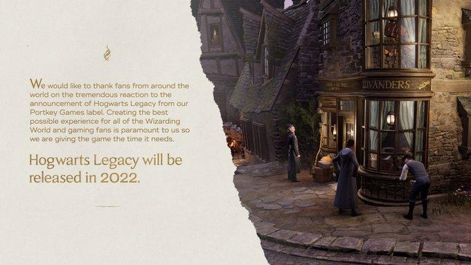 hogwarts legacy opóźnienie