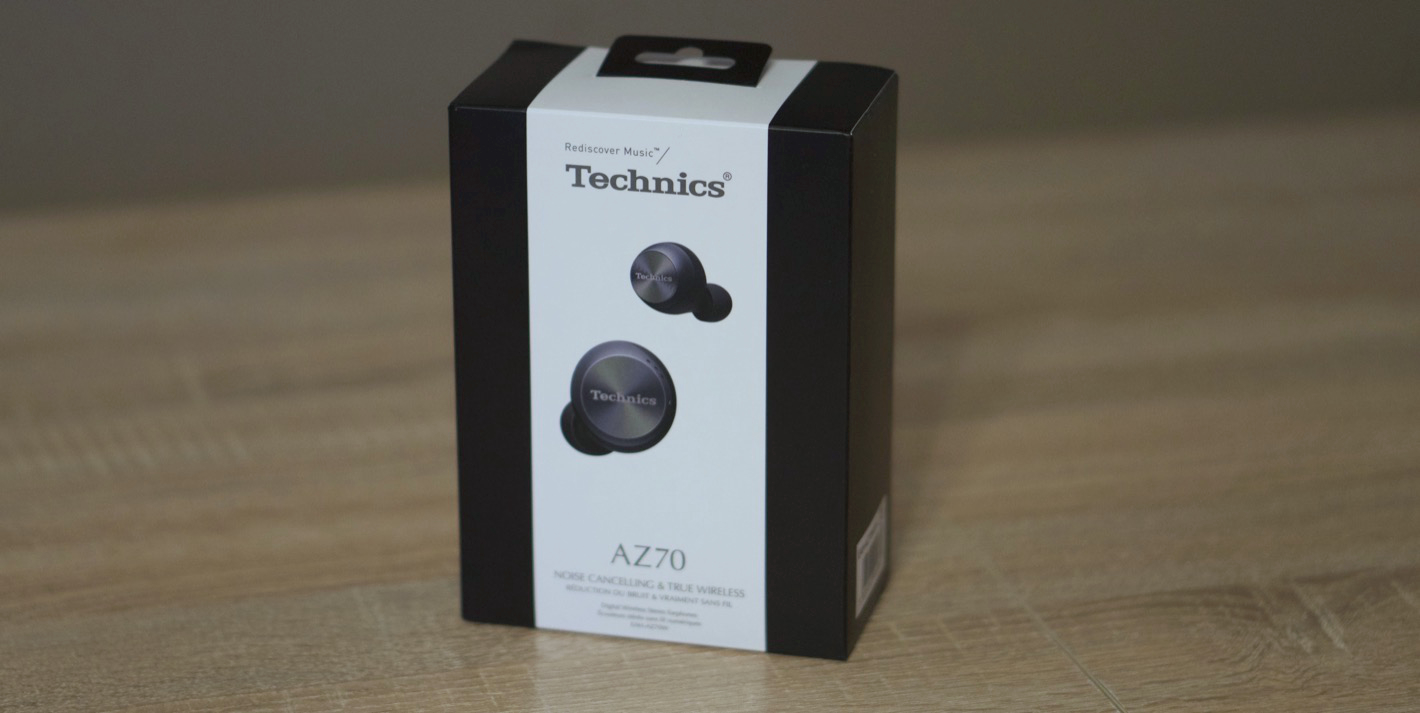 Technics EAH-AZ70W - opakowanie