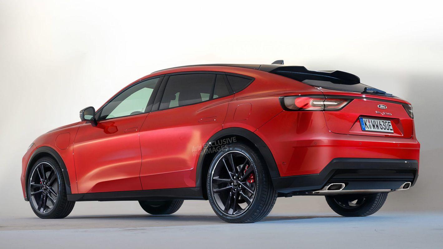 Ford Mondeo Evos 2022 crossover