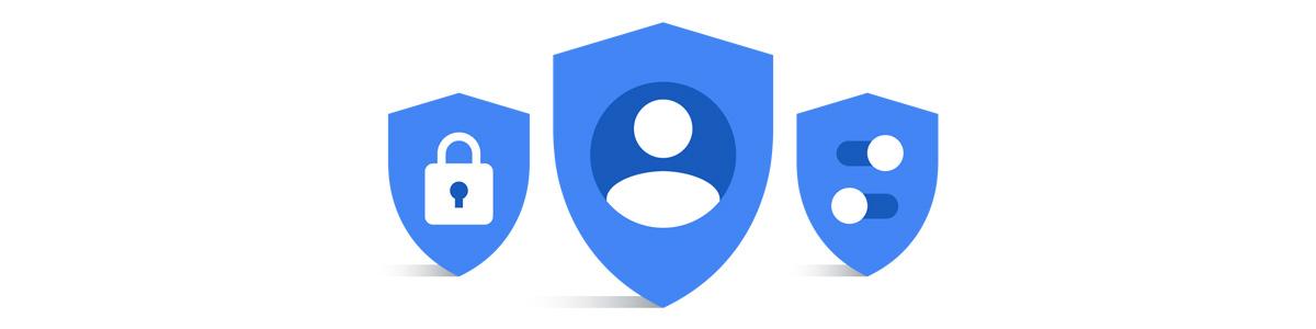 ikony prywatności Google