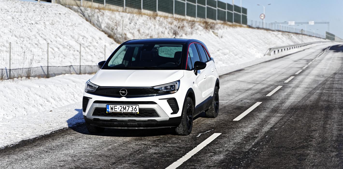 Nowy Opel Crossland 2021