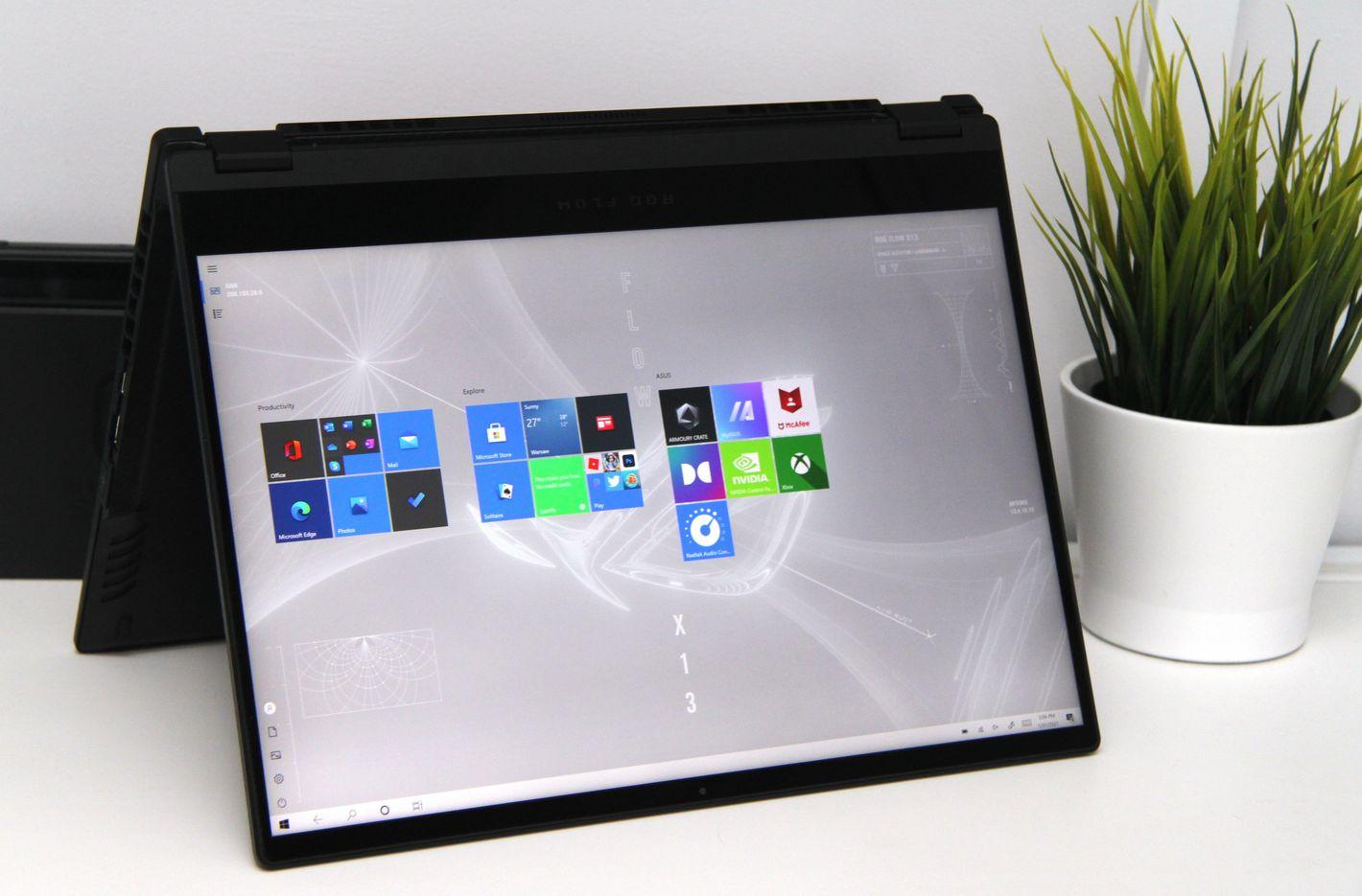 ASUS ROG Flow X13 ekran Gorilla Glass