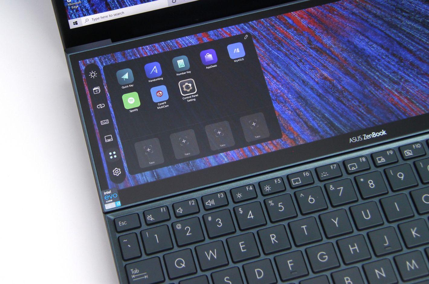 ASUS Zenbook Duo UX482 Screenpad+