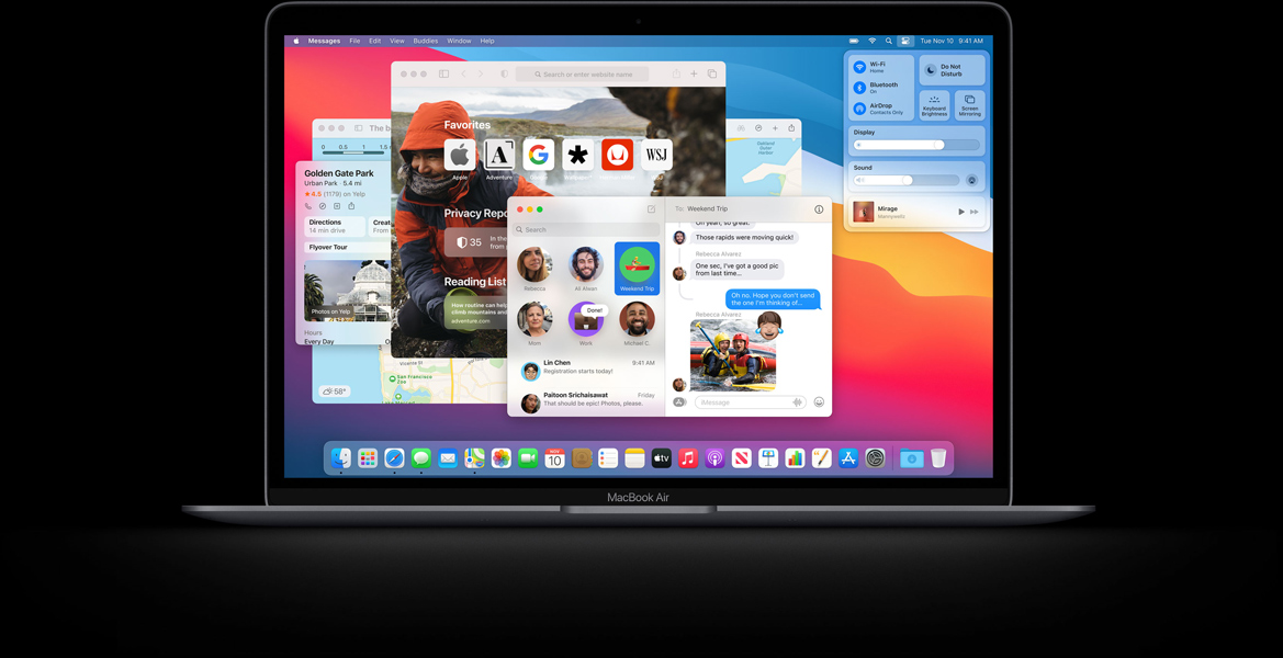 macbook pro z układem m1