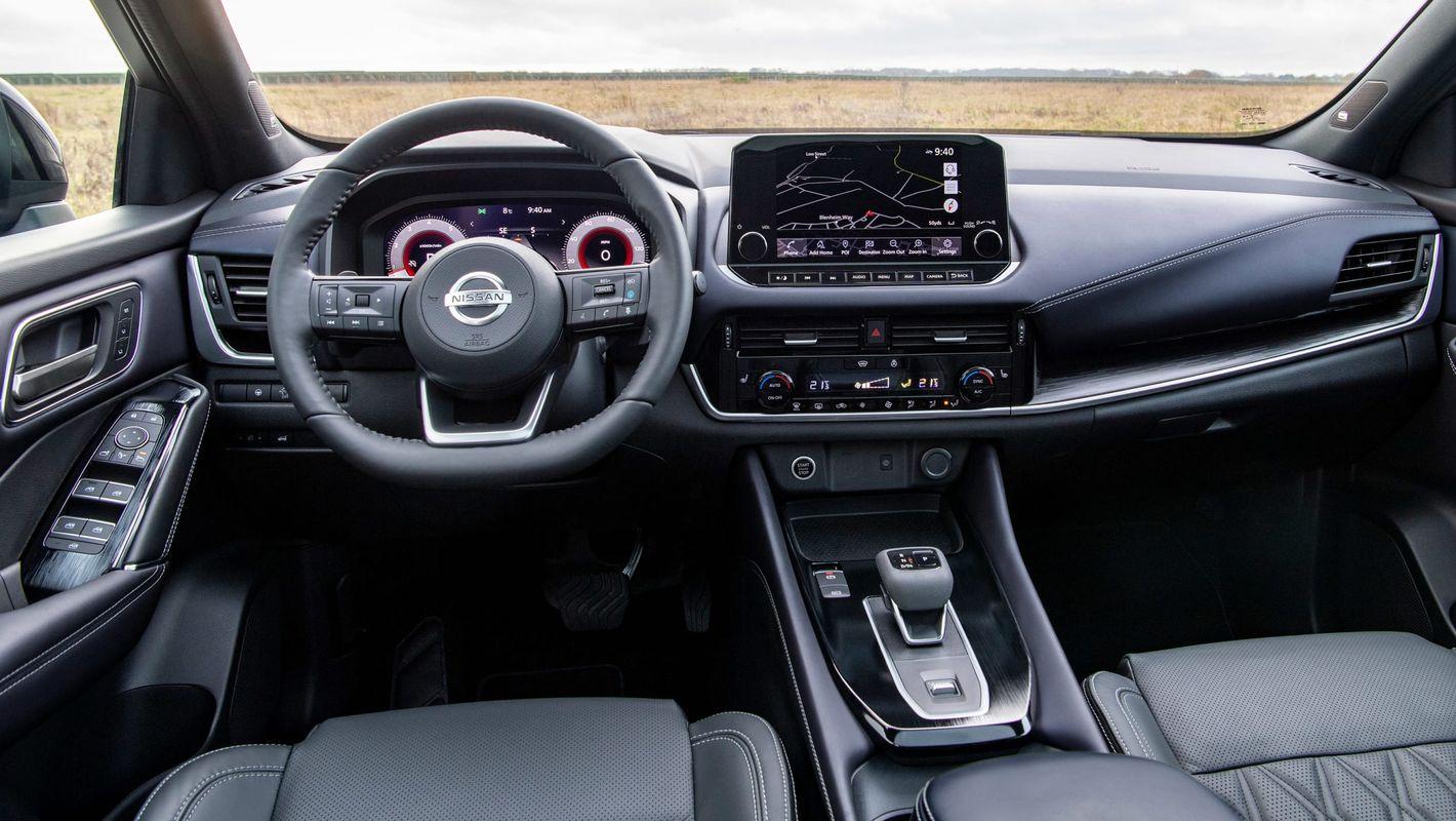 Nissan Qashqai 2021 wnętrze