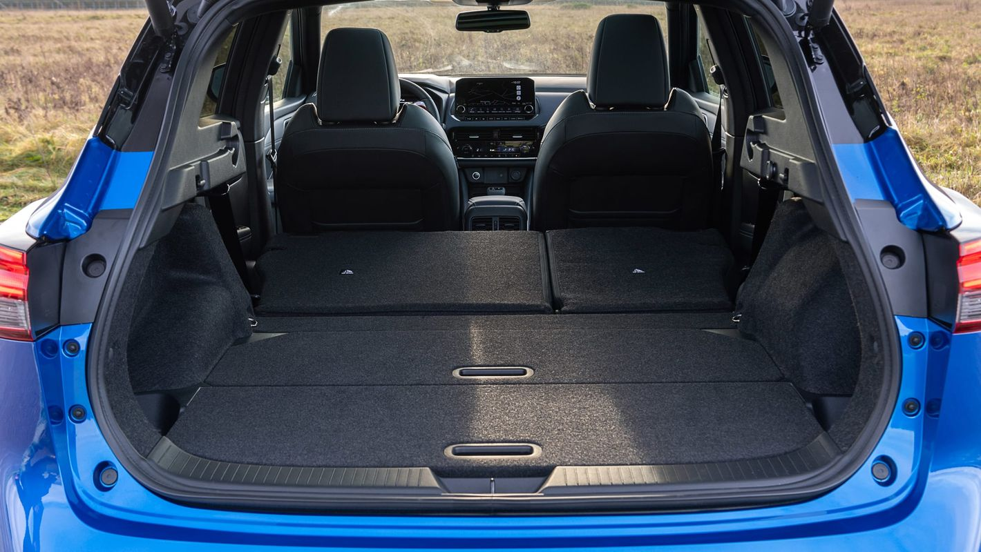 Nissan Qashqai 2021 bagażnik