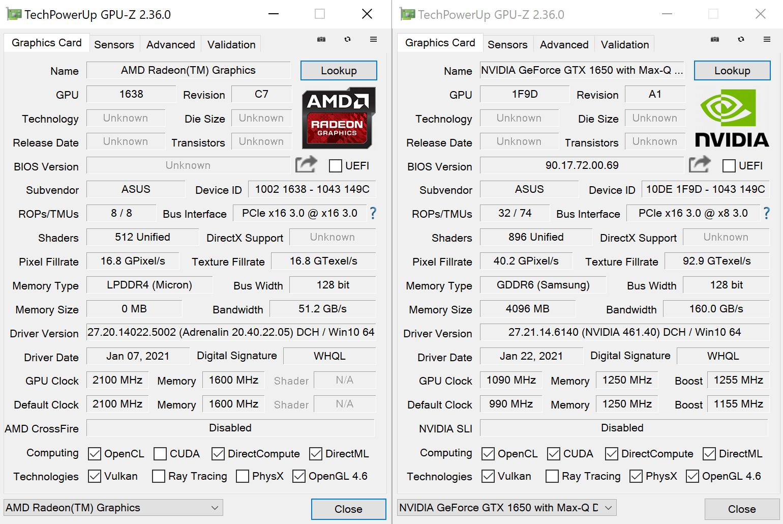ASUS ROG Flow X13 GPU-Z