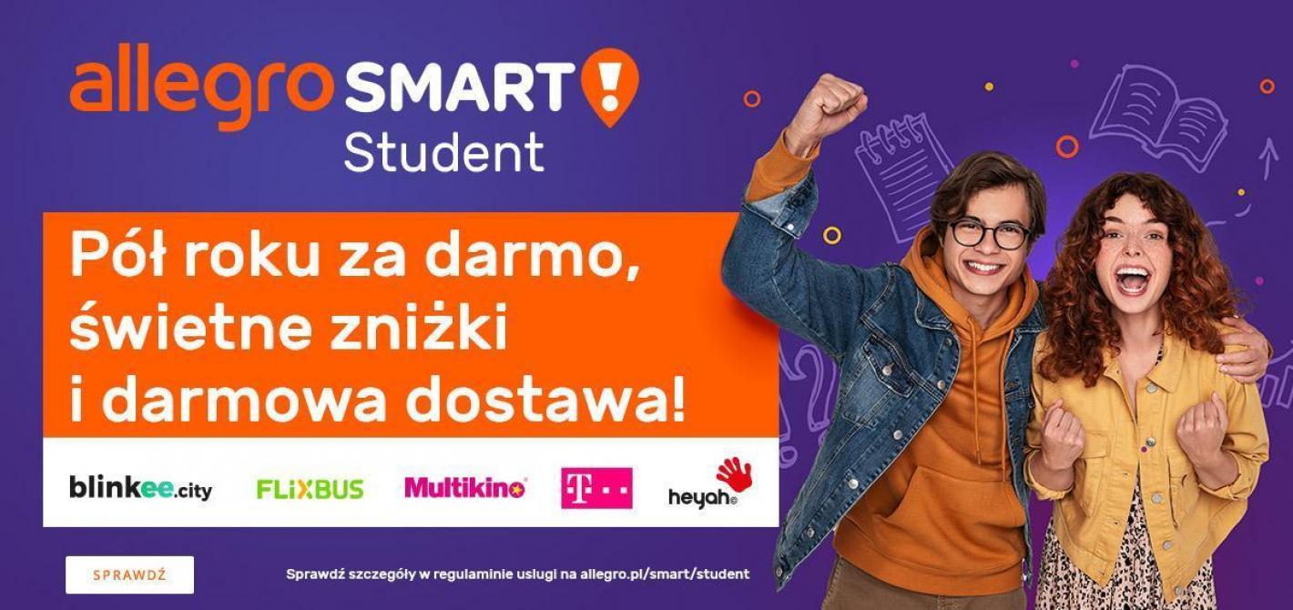 Allegro Smart! Student za darmo przez pół roku