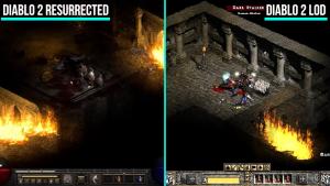 Zobaczcie, jak wygląda Diablo 2 Resurrected w bezpośrednim porównaniu z Diablo 2