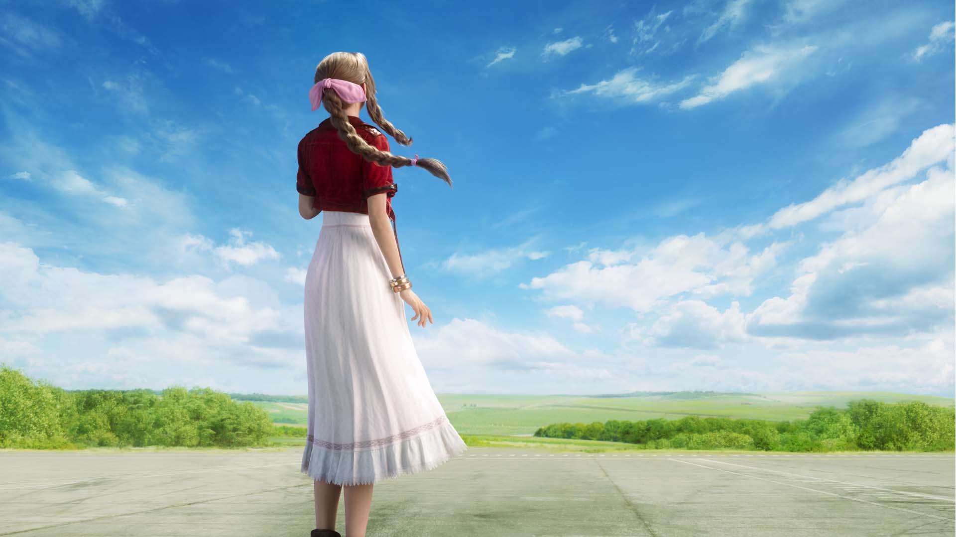 zrzut ekranu z final fantasy vii