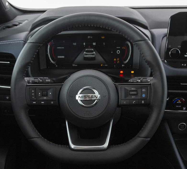 Nissan Qashqai 2021 - kierownica
