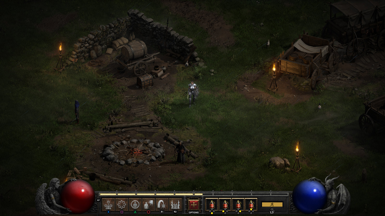 zrzut ekranu z gry Diablo II: Resurrected