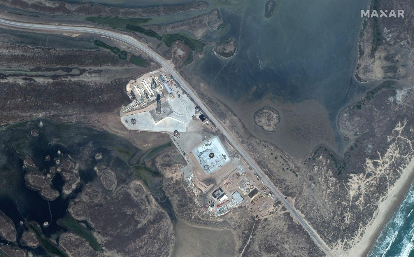 SpaceX space port - Teksas