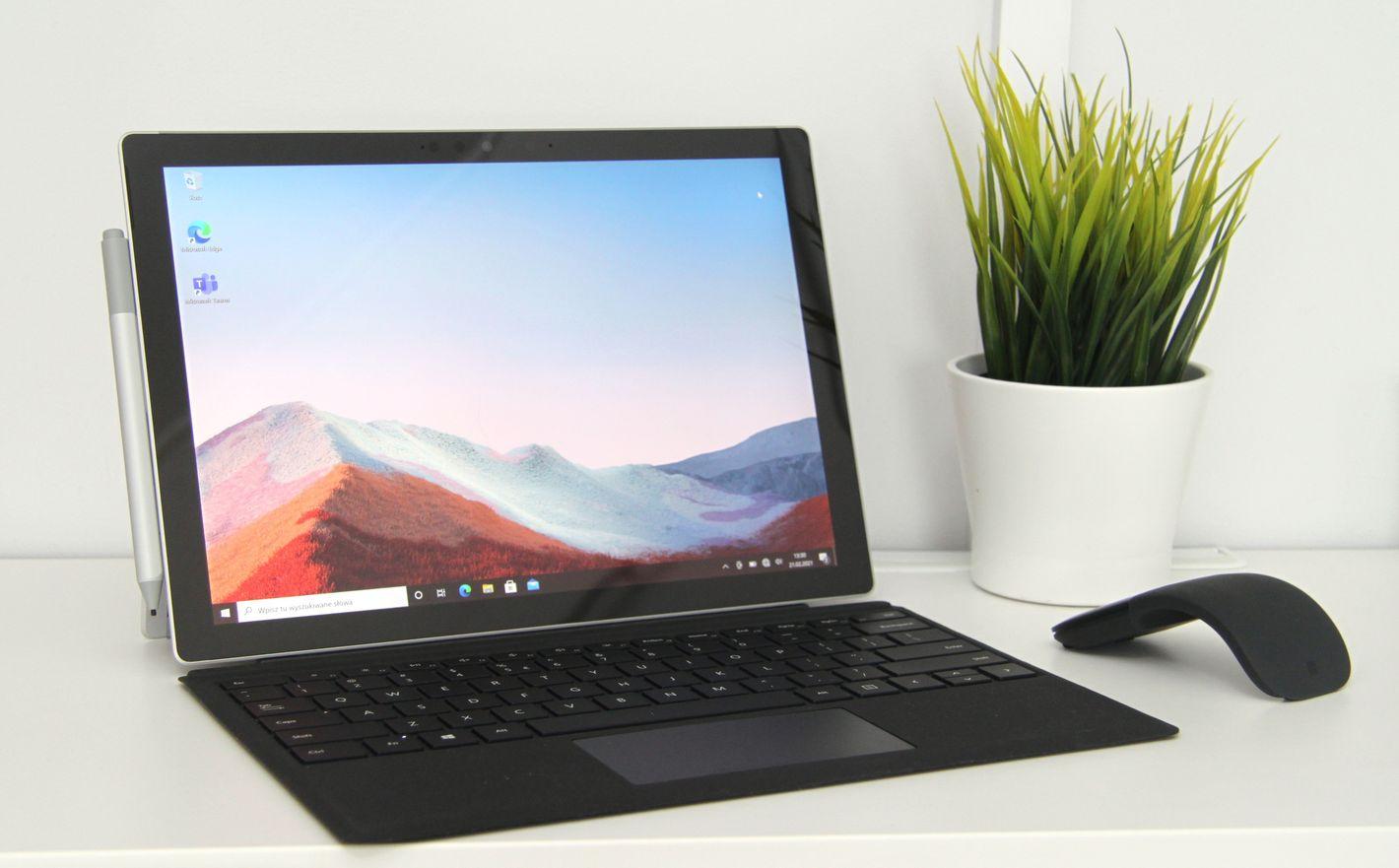 Microsoft Surface Pro 7+ dla firm