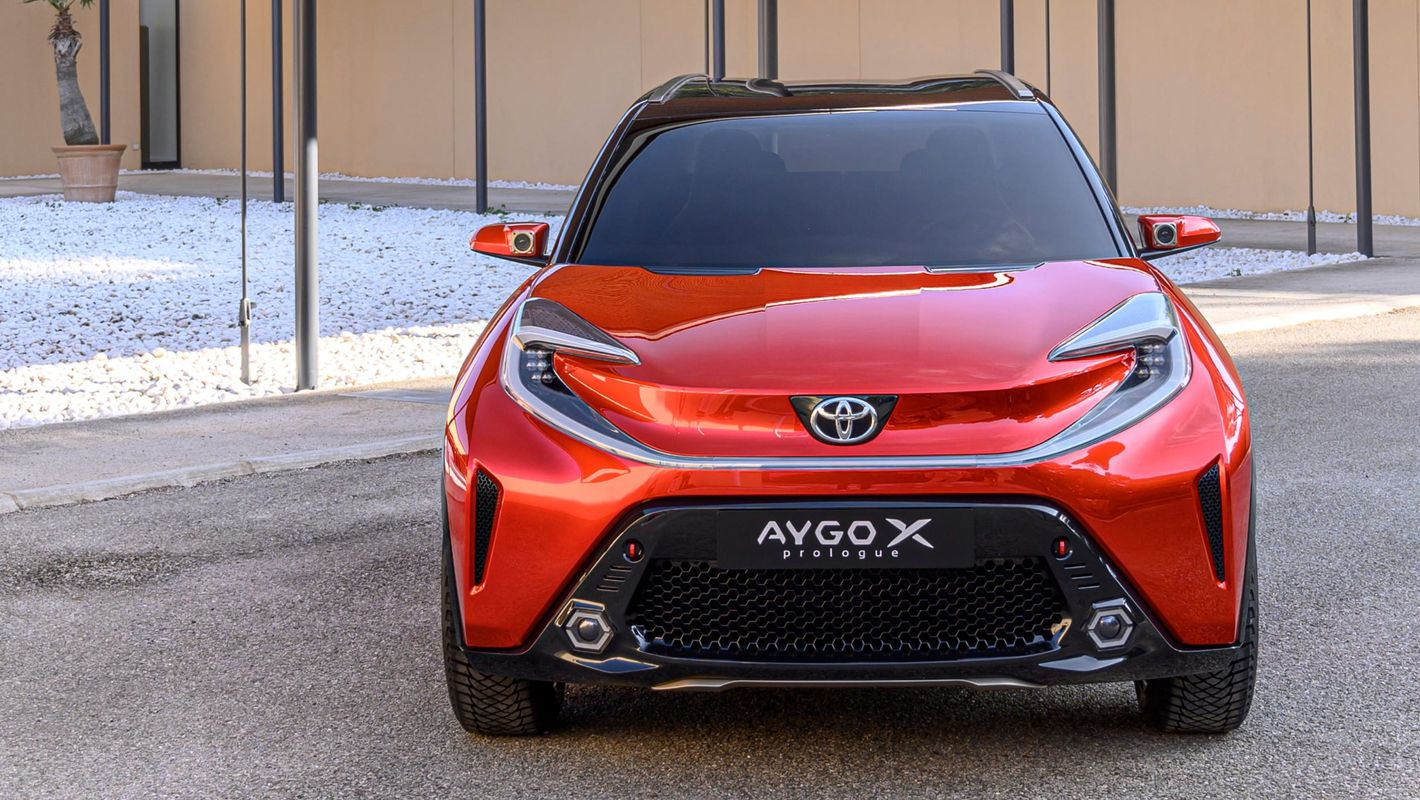 Toyota Aygo X Prologue przód