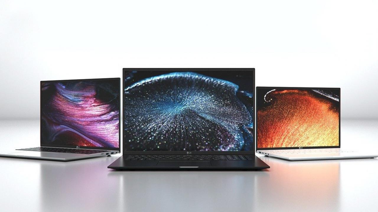laptopy LG Gram 2021