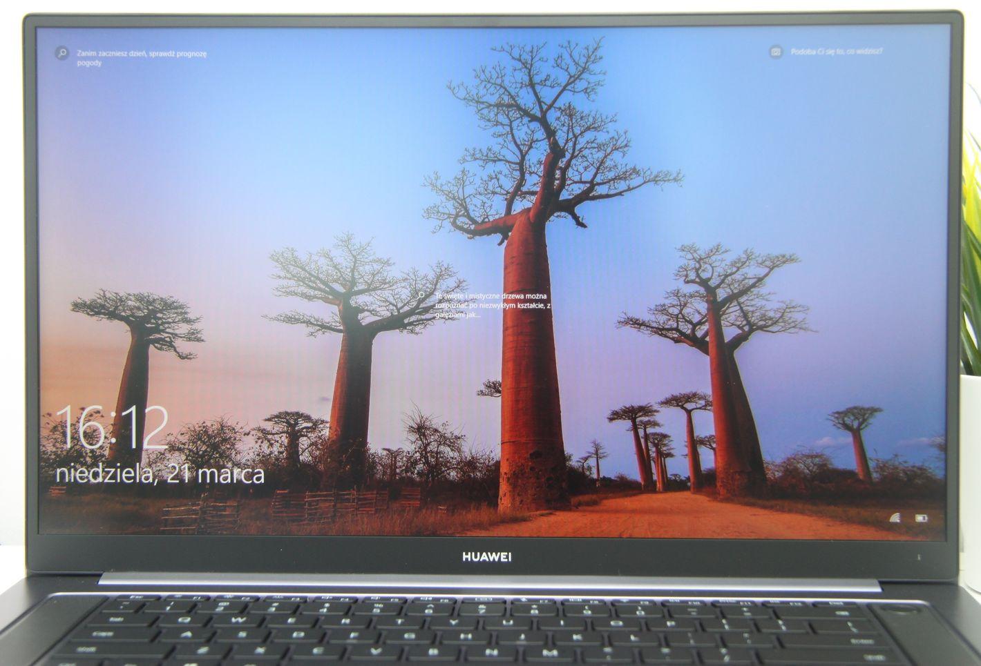 Huawei Matebook D 16 ekran