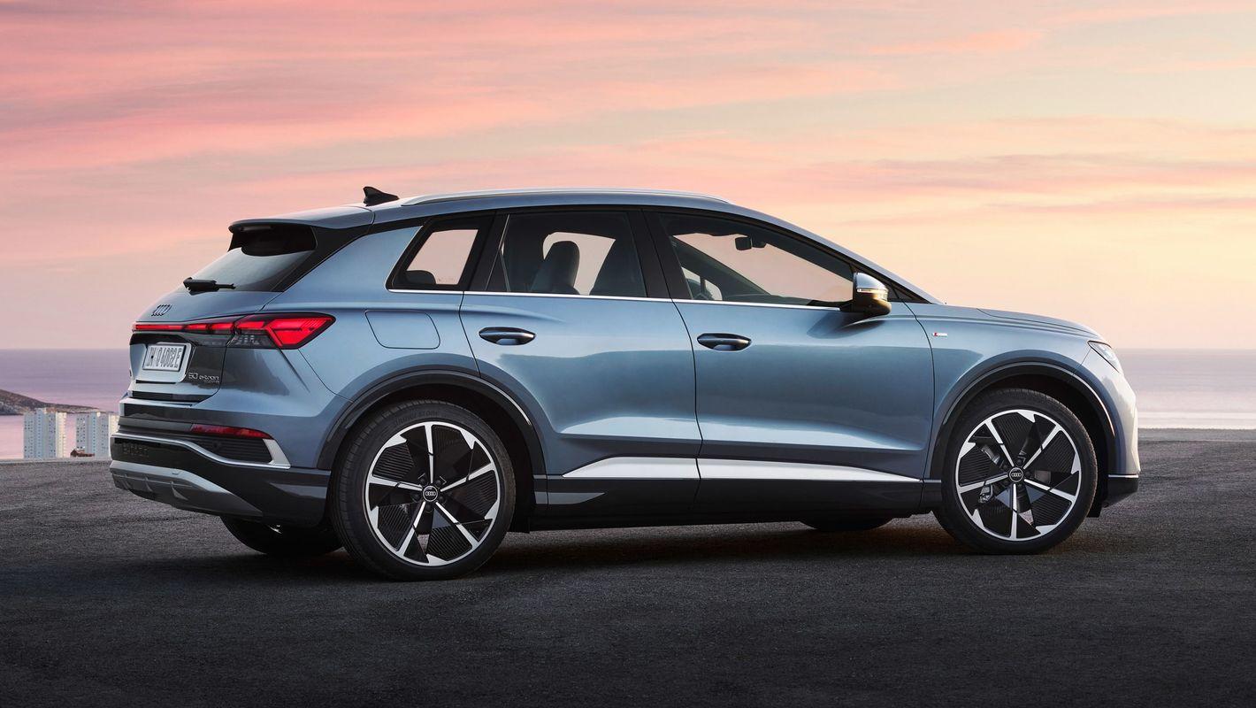 Audi Q4 e-tron bok