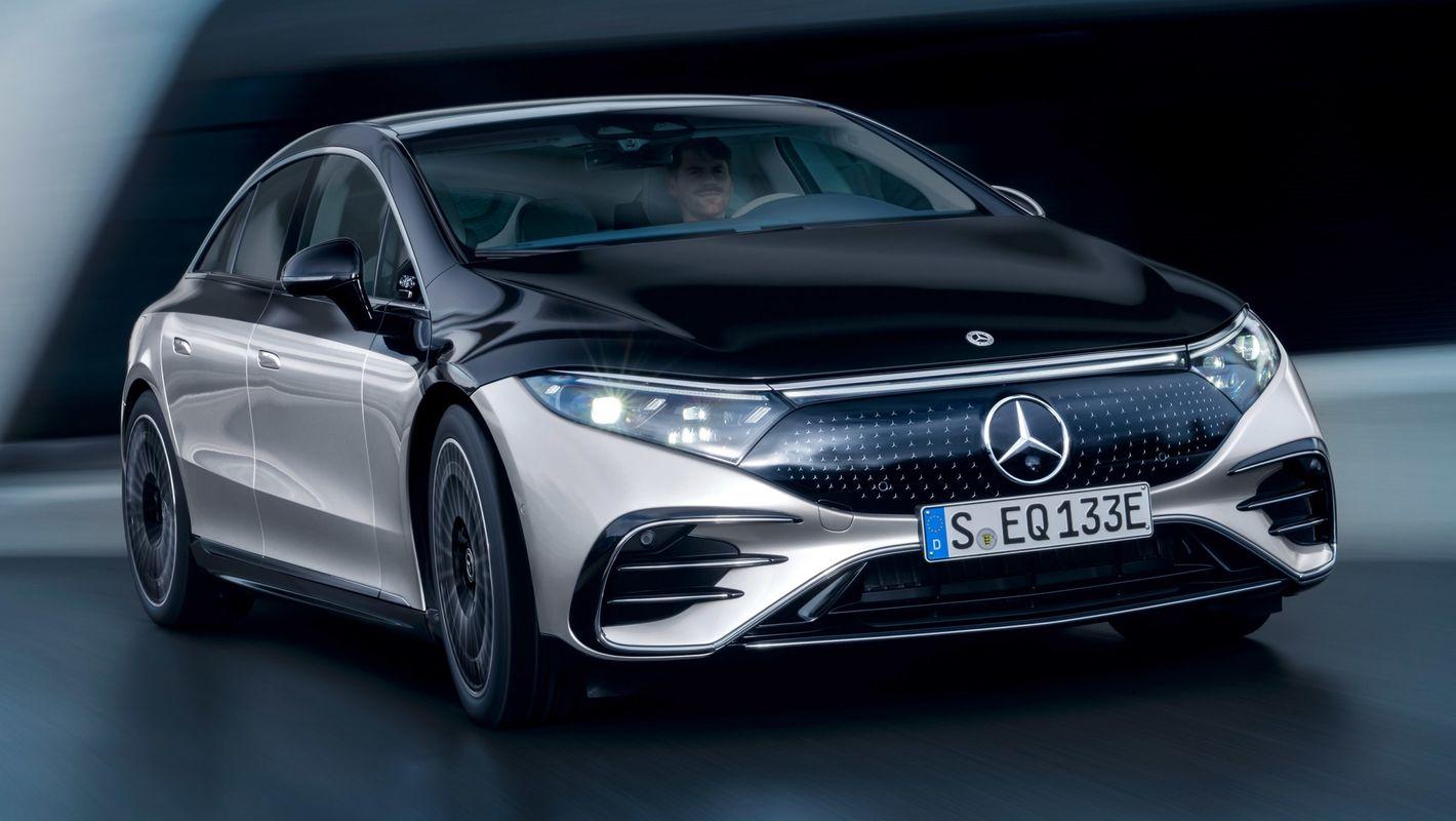 Mercedes EQS przód