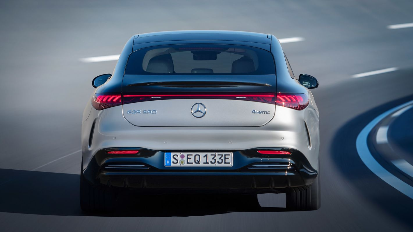 Mercedes EQS tył