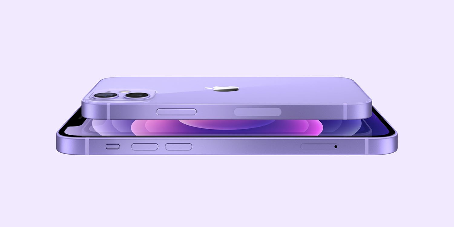 iphone 12 fioletowy