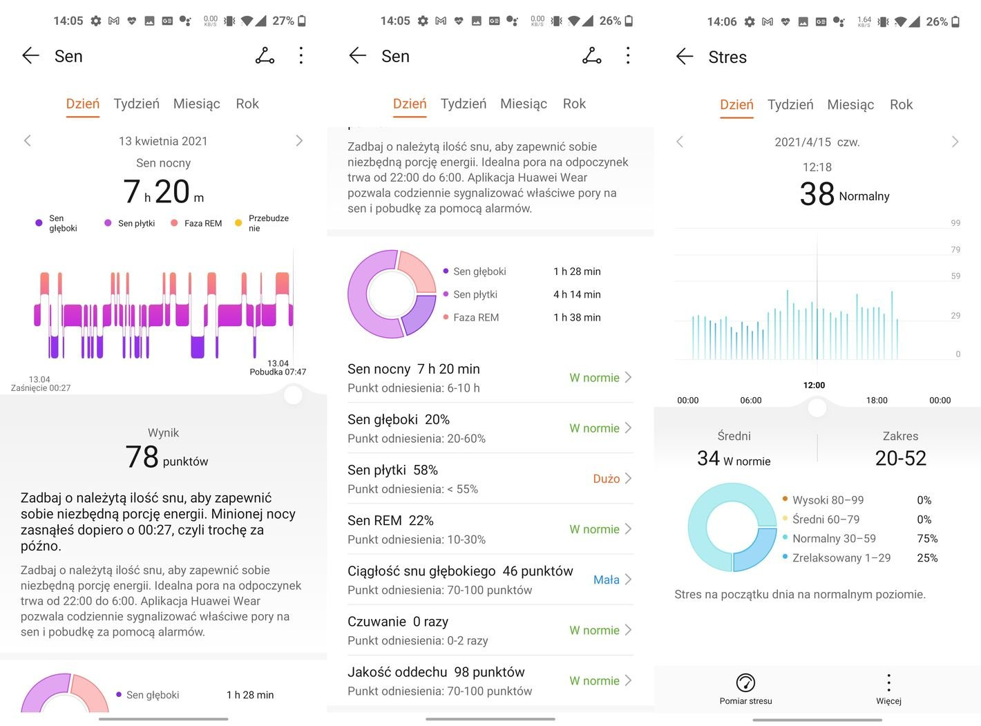 Huawei Band 6 monitoring snu