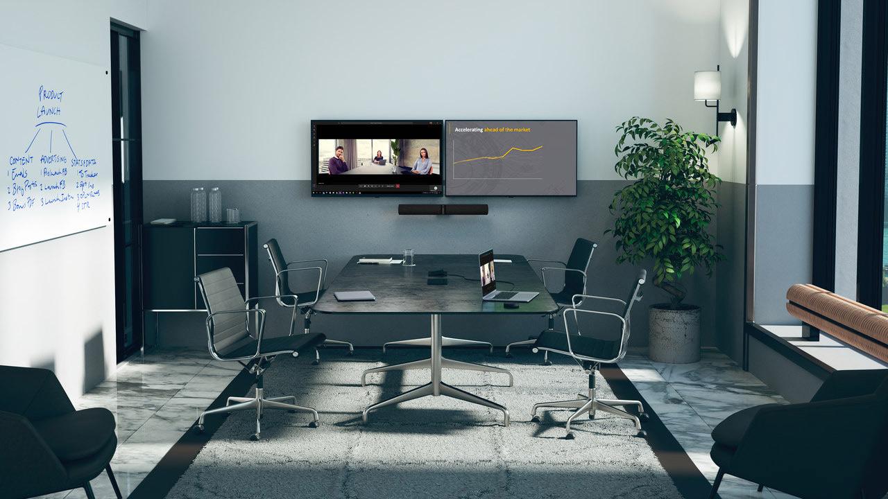 biuro z systemem Jabra PanaCast 50