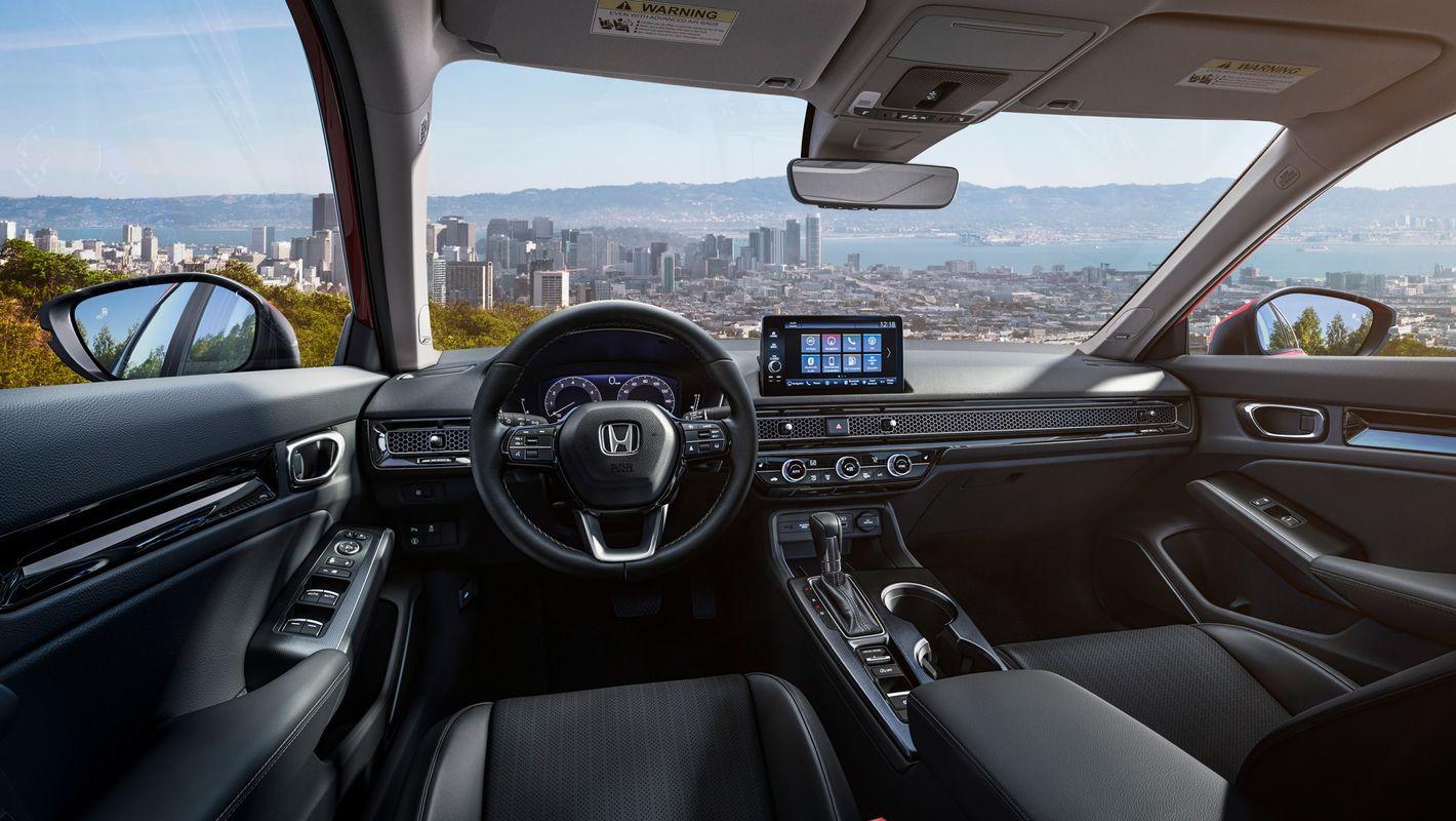 Honda Civic 2021 wnętrze