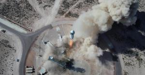 Blue Origin rozpoczęło sprzedaż biletów na loty rakietą New Shepard